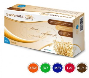 SafeHAND COATS z owsem a'100 - popielate